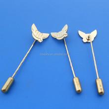 gold stick pin, tie stick pin, decorative stick pin