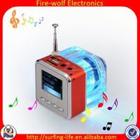 Good Promotion USB mini Speaker as Polyresin Baby Gift