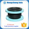 Aborsing Movement Galvanized flange rubber expansion joint manufacturer