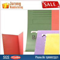 Jurong Manufacturing Decorative A4 Hanging File Folders, Assorted Colors