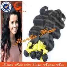 Venta al por mayor de tinte para cabello humano virgenindia pelo, cabello virgen brasileño desnudos de mujer negro
