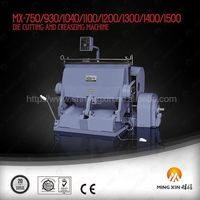 Best factory used die cutting machine for color paper box
