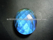 AAA Quality Labradorite Gemstone Rose Cut Cabochon Size 15x25MM Approx Wholesale Price