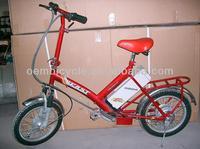 16 inch light weight easy-ride e-bike