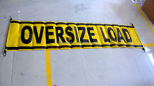 Oversize D Wide Load Banner - Canada DOT Compliant
