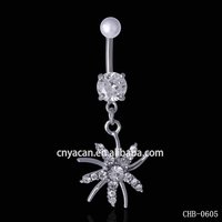 New Arrival Body Piercing Jewelry Magnetic Belly Button Rings