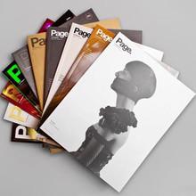 Adult covers paper met art magazine