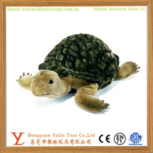 2015 promotional sealife toys soft plush toys imitated sea turtle animal decoration toys