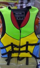 Best selling neoprene life jacket, swim life vest for swimming