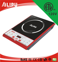 touch switch crystal glass panel 110v induction cooktop