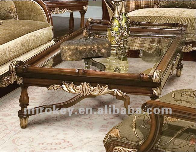 soggiorno classico di legno tavolino-Tavoli da caffe`-Id ...