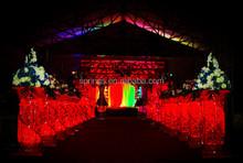 China red fashion wedding mandap/pillars/decoration