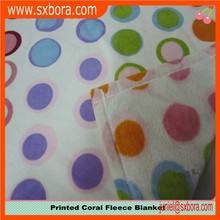 printed coral fleece fabric, coral fabric