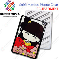 Dye Sublimation Cover for ipad mini With Aluminum Insert