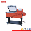 Low price two in one hand operated shrink wrapping machine