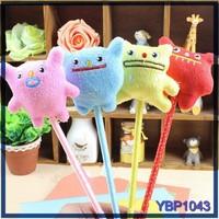 cartoon animal light tip ball pen bulk ballpoint pens yiwu stationery market