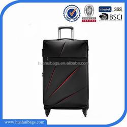 2015 Black Polo Travel Trolley Luggage Bags