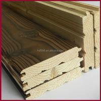better Thermowood finish sauna board