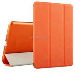 Factory price transparent TPU case cover for ipad mini 4 leather case for apple ipad mini4