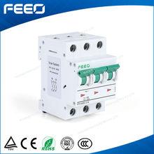 CE Certificate 3P 32A Solar energy PV system DIN Rail circuit breaker 415V DC MCB
