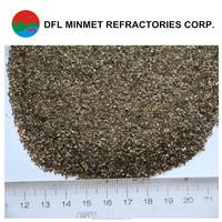 China Hebei 1-2mm Gold vermiculite/ crude vermiculite