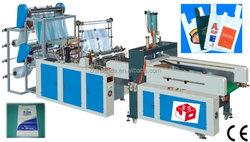 Automatic T_shirt Bag Sealing Cutting Machine/ shopping bag making machine
