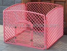 Plastic pet dog fence enclosure plastic pet pen outdoor
