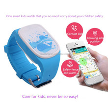 Care for kids security child smart watch with GPS+LBS dual-model positioning SOS watch