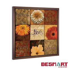 hot sale simple wall painting decor on canvas for wall hanging