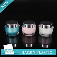 different sizes luxury cream jar bamboo cosmetic packaging wholesale cosmetic cream sample packaging