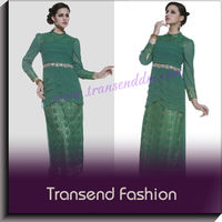 Beading lace abaya london