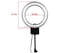 Photography Studio 40W 5400K Fluorescent Ring Lamp Light with Flexible Arm for Studio Lighting