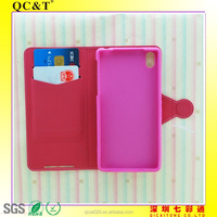 New fashion TPU stitching leather case For Sony XPERIA Z2/D6502/D6503