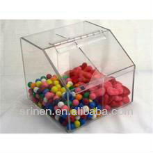 acrílico distribuidor de doces caixa