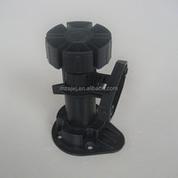 MZ-130 plastic kitchen adjustable cabinet legs with C clips