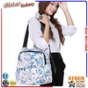 Floral printing PVC shoulder bag women elegant fashion lady handbag BSB101