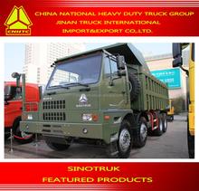 mining enterprises special use SINOTRUK Howo Mine Dump Truck 60T Off-Road Vehicles