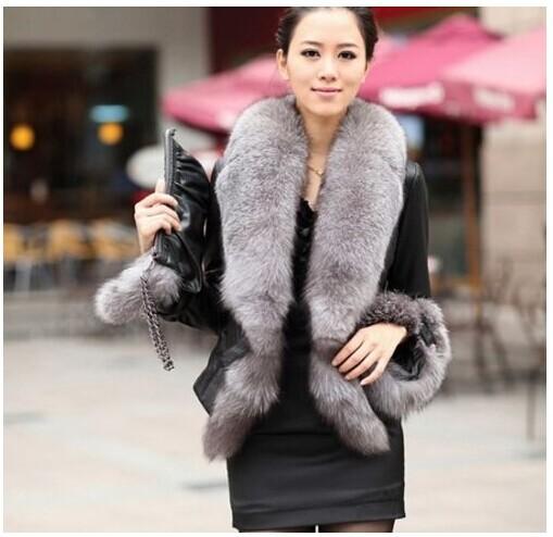 Модные куртки из меха женские