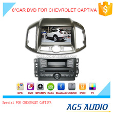 touch screen car dvd mp3 mp4 player for CHEVROLET CAPTIVA with reversing camera/car cassette/cd dvd/gps
