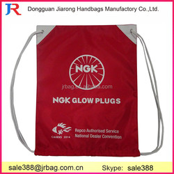 Wholesale OEM Custom Logo Printed 420d Polyester Fabric small drawstring bags