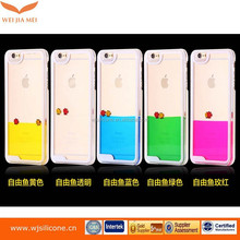 Wholesale cheap price liquid cell phone case for iPhone 6s,for iphone 6 plus liquid glitter phone case