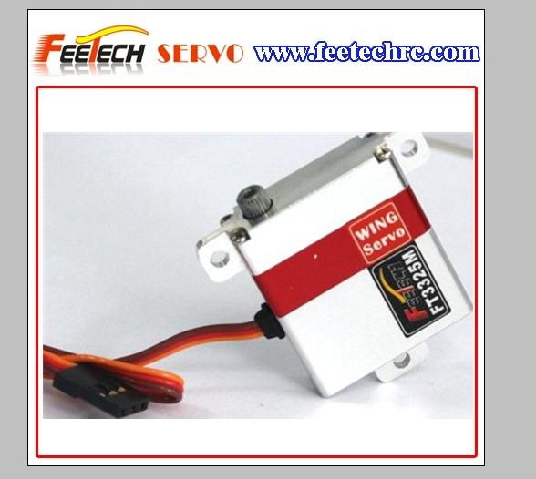 Tous boîtier métallique mini rc servo numérique l'aile. ft3325m pour pour futaba/hitec/jr/<span class=keywords><strong>towerpro</strong></span>/savox/corona