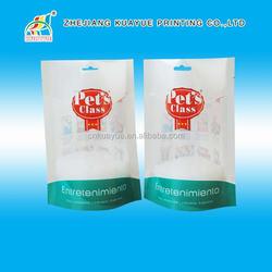 Factory Price Pet Food Bag With Zipper,Manufacturer Plastic Pet Food Bag With Zipper,Dog Food Packaging Bag/Ziplock Bag