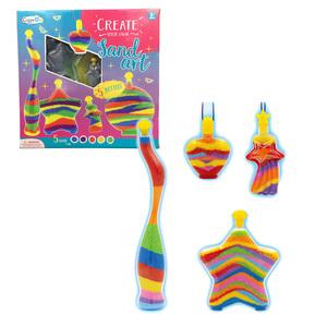 Mestiere Giocattolo Per Bambini Pittura Kit di Arte della Sabbia di Colore Kit