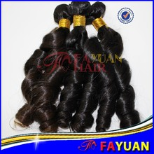 Trade assurance no chemical processedd neat and tidy weft spring curl dye free 7a top quality cambodian human hair