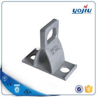 Manufactured Aluminium Anchor Bracket on pole to support the ABC Cable YJCT1500
