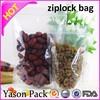 Yason custom printed zip lock plastic bags ziplock bag with hanger printing ziplcok bag