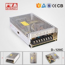 120W Dual Output Switching Power Supply D-120C 12v 5a 24v 2a switching power supply circuit