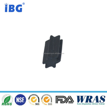 Waterproof EPDM rubber 60SHA Cleaning brush piece for Auto part