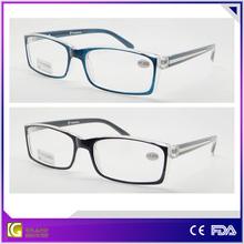 2015 popular designer eyeglass frame fashion flexible reading glasses